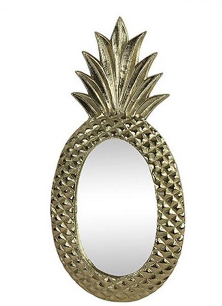 Wandspiegel Pineapple Design Ananas H59cm