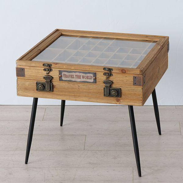 Couchtisch Beistelltisch COLLECT Konsole Setzkasten Tisch