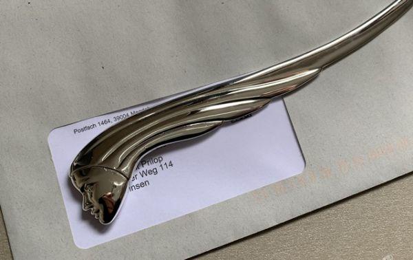 Brieföffner SIRENE Design-Objekt Silber