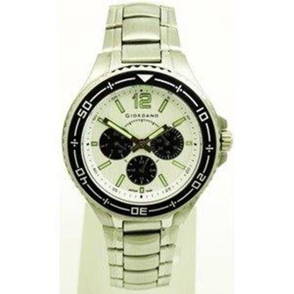 Sportlich elegante Giordano Herren Uhr mit Kalender Day Date