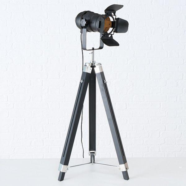 Stehleuchte MOVIE Strahler im Retro Stil H145 cm